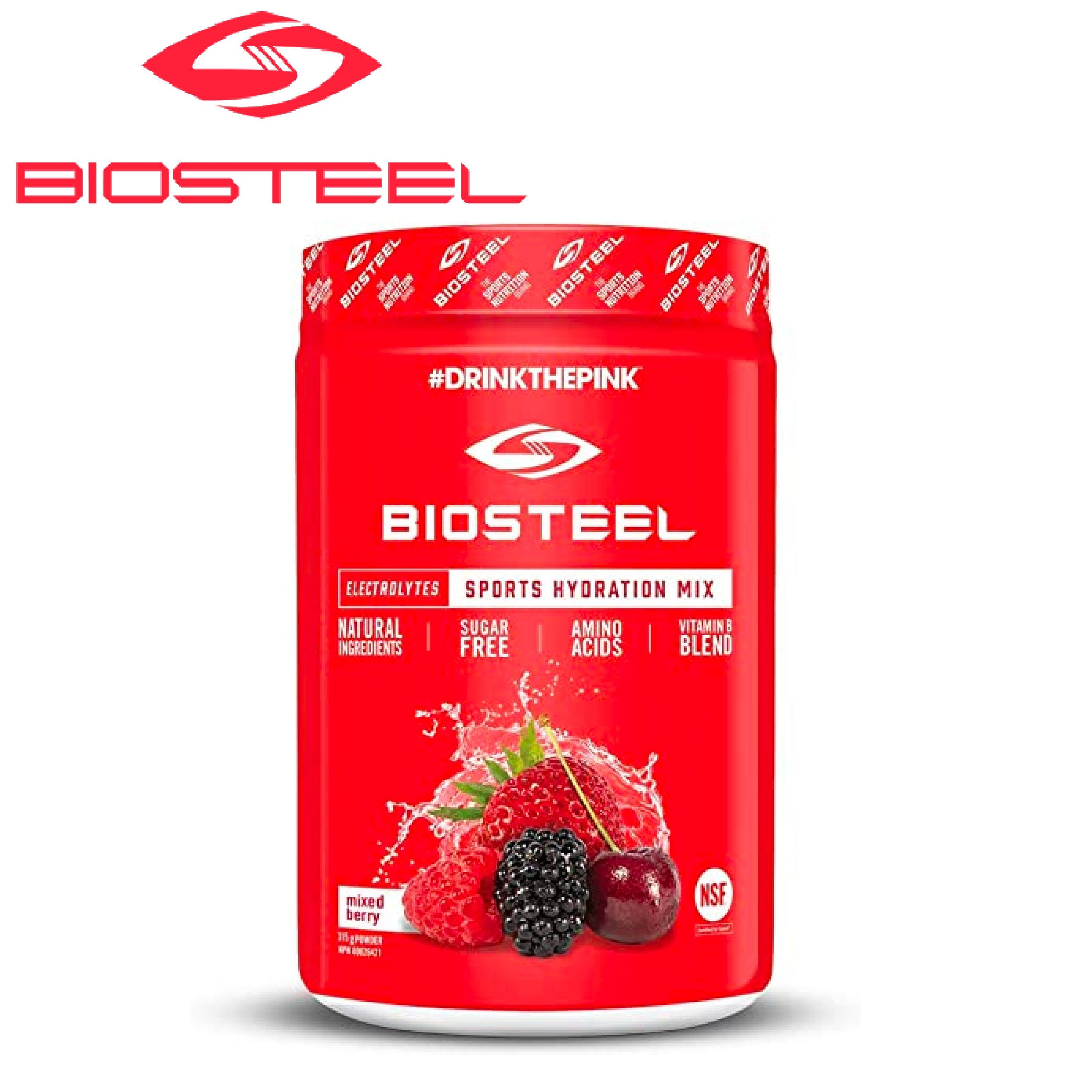 BioSteel High Performance Sports Mix - Berry