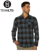 TeamLTD Blue Campfire Flannel