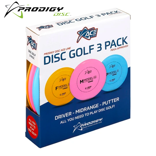 PRODIGY ACE DISC GOLF 3 PACK