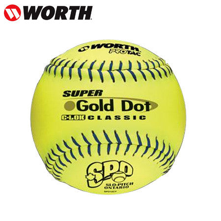 Worth Gold Dot Classic Optic (Dozen)