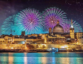 Malta International Fireworks Festival - Grand Finale by boat 7th August 2020