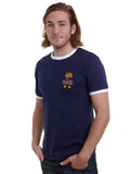 Custom-made Mens customisable retro France football T-shirt