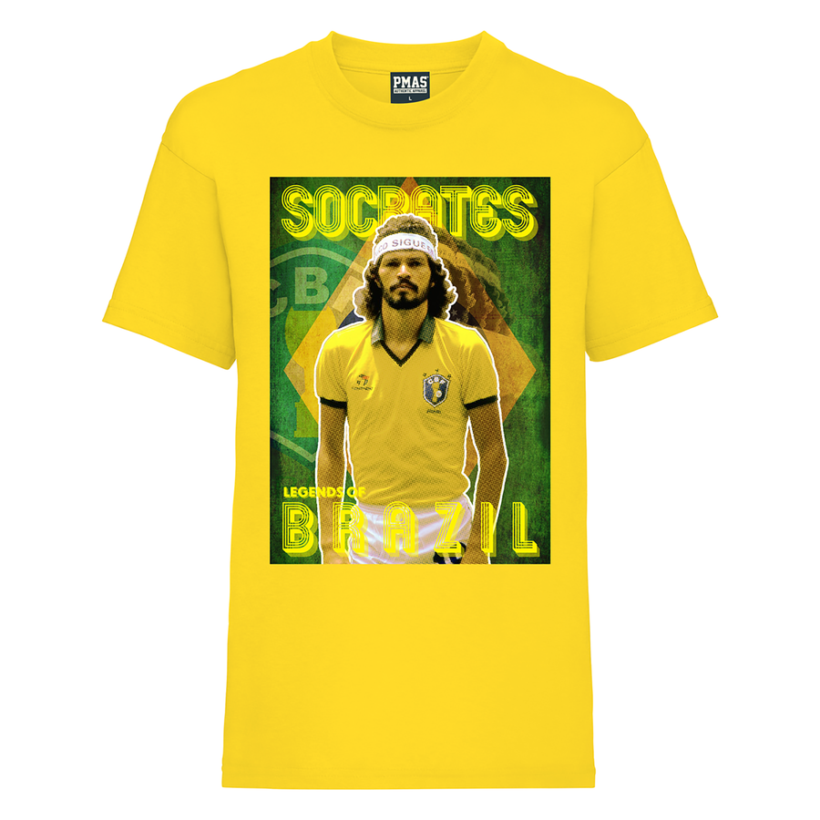 Kids Socrates Brazil World Cup Legends T-Shirt