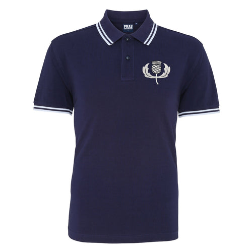 Scotland / Scottish Embroidered Rugby Football Polo Shirt