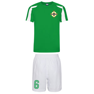 Adults Republic Ireland Eire Retro Football Kit Shirt Shorts & Free  Personalisation - Green