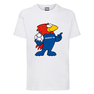 Kids World Cup France 98 Footix T-Shirt