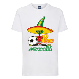Kids Retro World Cup Mexico 86 Pique T-shirt