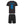 Load image into Gallery viewer, Kids England Football Drill Training Shirt & Shorts with Personalisation - Black / Black
