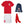 Load image into Gallery viewer, Kids Customisable England Style Kit Football Shirt, Shorts, Socks, Personalised Bag Away