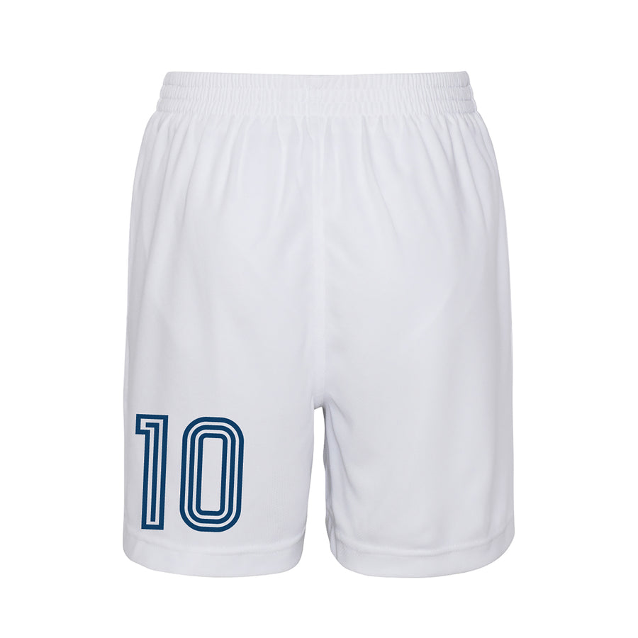 Kids Customisable Scotland Style Football Kit Shirt, Shorts, Socks and Personalised Bag Away