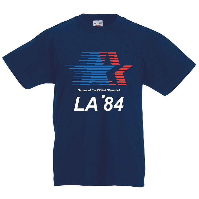 Kids vintage Los Angeles LA 1984 olympic T-shirt