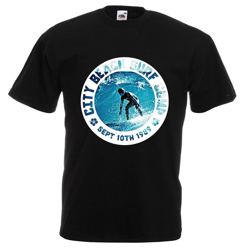 Mens surf contest city beach T-shirt