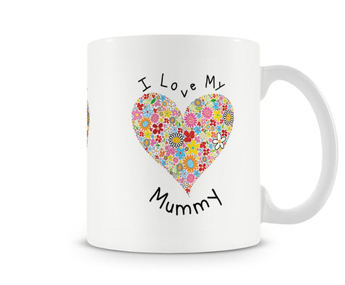 Kids I Love My Mummy Mothers Day Mug - White