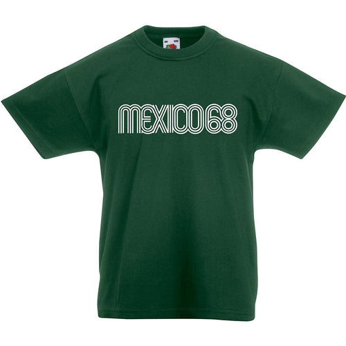 Kids vintage Mexico 1968 olympic T-shirt
