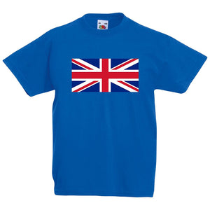 Kids Great Britain Union Jack flag T-shirt