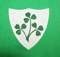 Ireland Irish Vintage Retro Embroidered Rugby Football Sport Hoodie in Adult & Kids Sizes - Badge