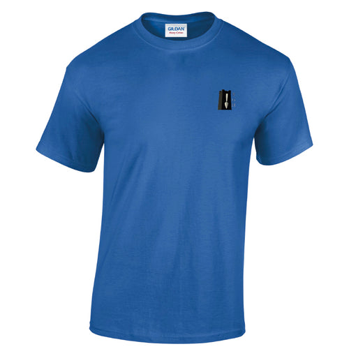 BGH Royal Blue - Heavy cotton adult t-shirt-BGH0002
