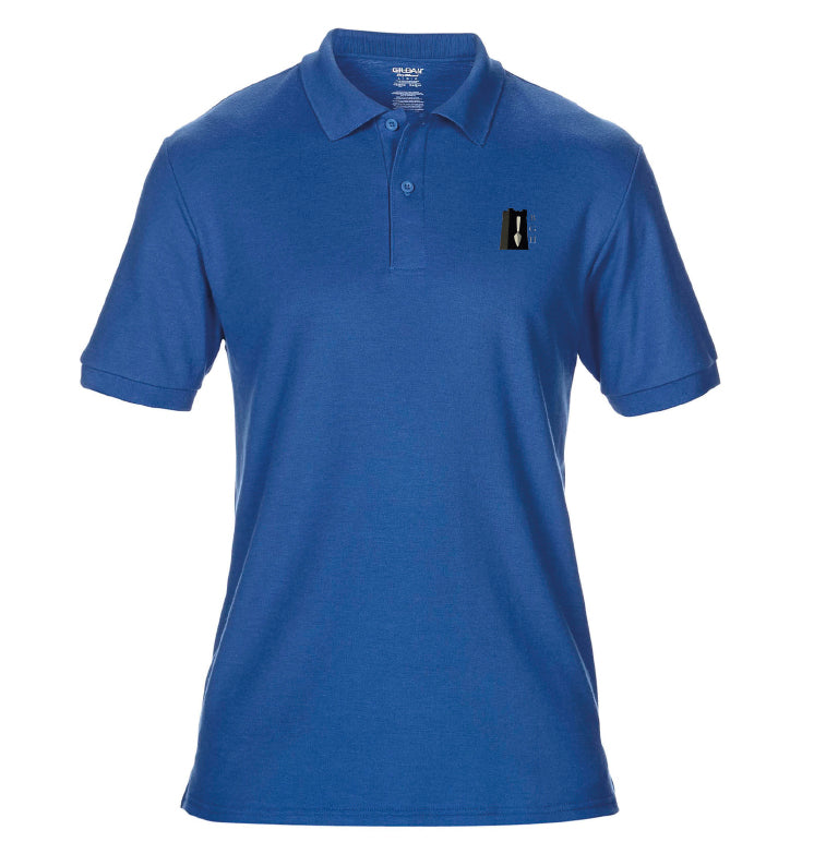 BGH Royal Blue - Double piqué sport shirt