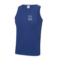 JC007 Royal Blue Men's Performance Vest - Swindon Shin Splints - SSH0009