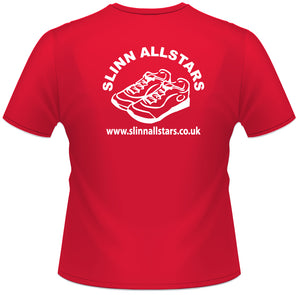 Slinn Allstars Red Unisex Technical T-shirt -SLA002