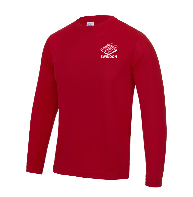 Slinn Allstars Red Unisex Long Sleeve T-shirt - SLA0011