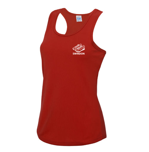 Slinn Allstars Red Ladies Technical Vest -SLA0003
