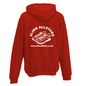 Slinn Allstars Red  Unisex Hooded Sweatshirt - SLA0004