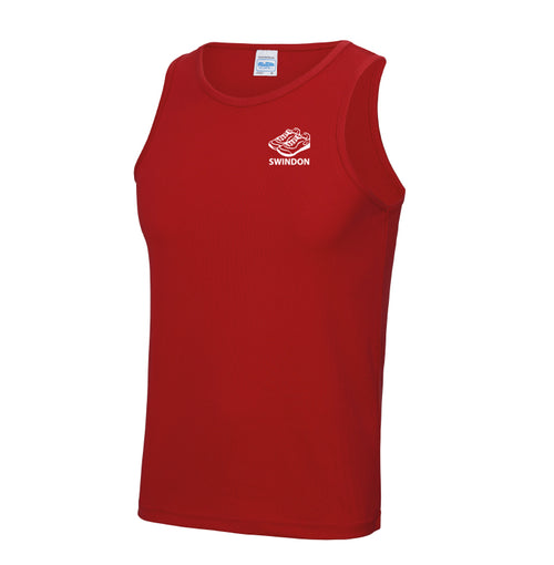 Slinn Allstars Red Unisex Technical Vest - SLA0006