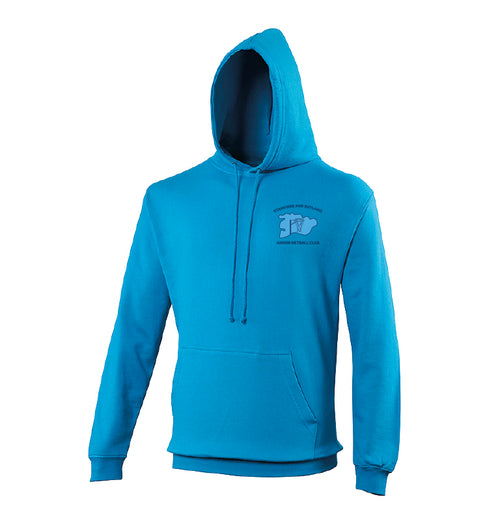Stamford & Rutland Netball Club- Hooded Sweatshirt - SRN0004