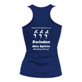 JC015 Royal Blue Ladies Performance Vest - Swindon Shin Splints - SSH0003