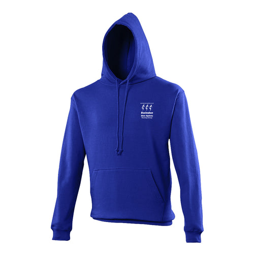 JH001 Royal Blue Hooded Sweatshirt - Swindon Shin Splints - SSH0007