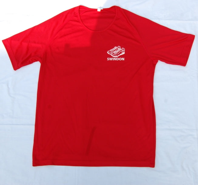Slinn Allstars Red Kids Technical T-shirt -SLA0007