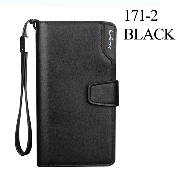New men wallets Casual wallet men purse Clutch bag Brand leather wallet long design men bag gift for men
