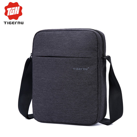New  Tigernu Brand Men's Waterproof Oxford Messenger Bag.   Briefcase. Crossbody Shoulder Bag.