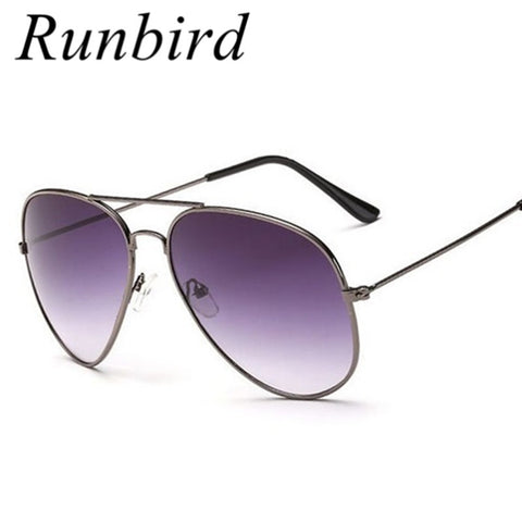 RunBird New Classic Metal Sunglasses Men Women UV400