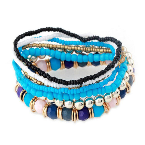 Handmade Multi-layer Women's Beaded Bracelets