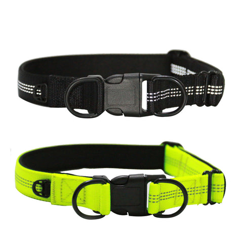 Adjustable Buckle Nylon Dog Collar  for Medium Dogs  Durable