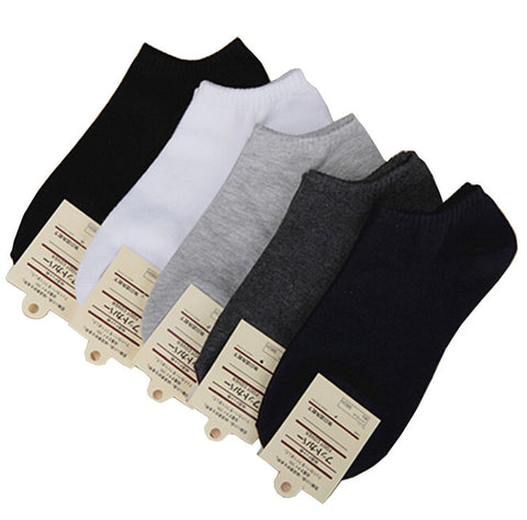 5 pairs/  Women's No Show Socks  high quality polyester breathable