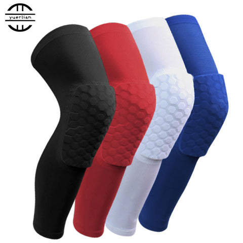 1 pc Honeycomb Sport Sock  Basketball  Compression Knee Sleeve
