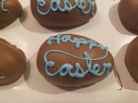 Easter Fudge Eggs