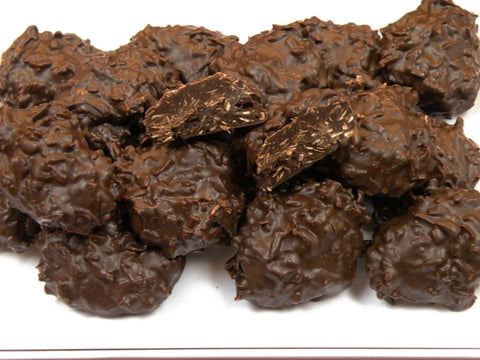 Dark Chocolate Coconut Clusters