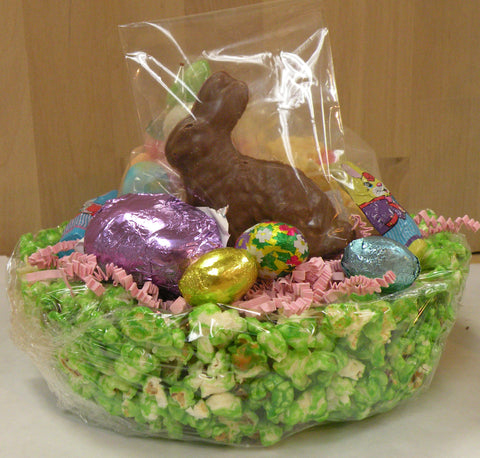 Popcorn easter basket donells candies inc popcorn easter basket negle Image collections