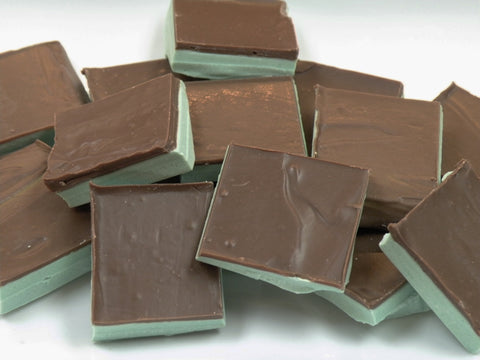 Milk Chocolate Mint Squares