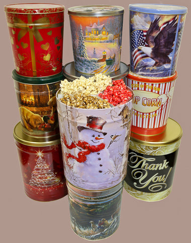 Popcorn Cans