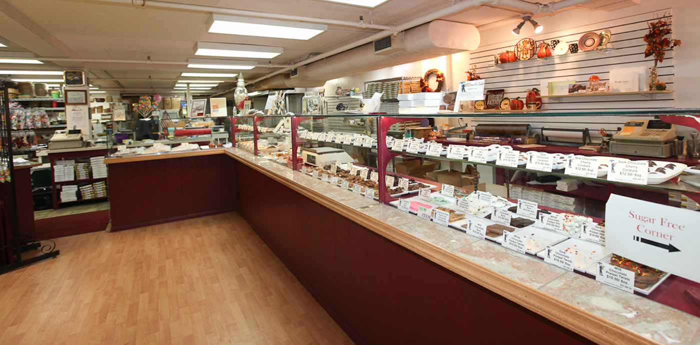 Donnels Candies Store Interior