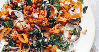 Buffalo cauliflower & chickpea bowl