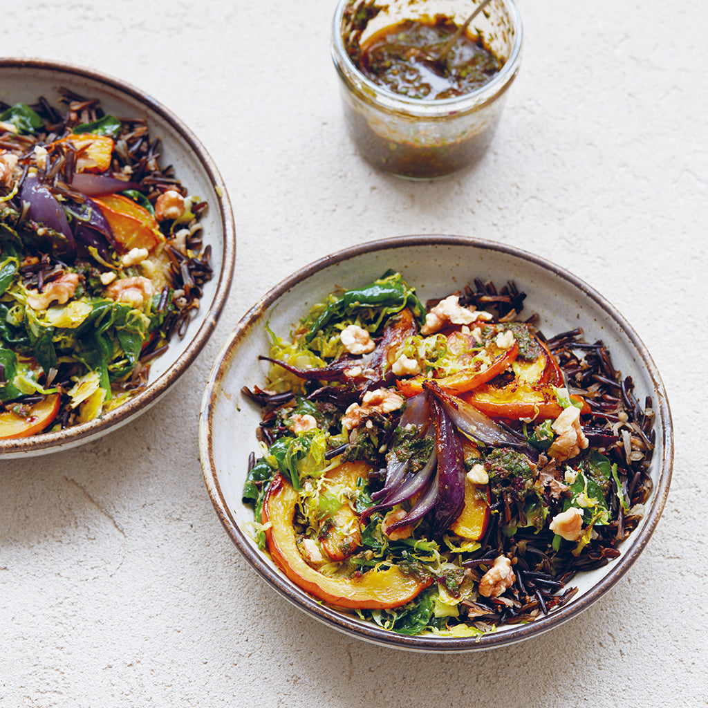 winter vegetable bowl
