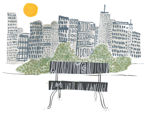 City scape illustration