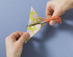 origami for mindfulness cherry blossom