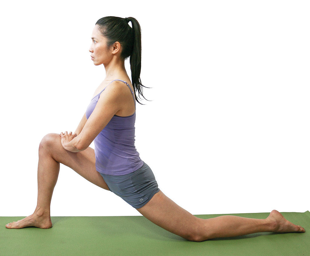 knee lunges stretch for runners